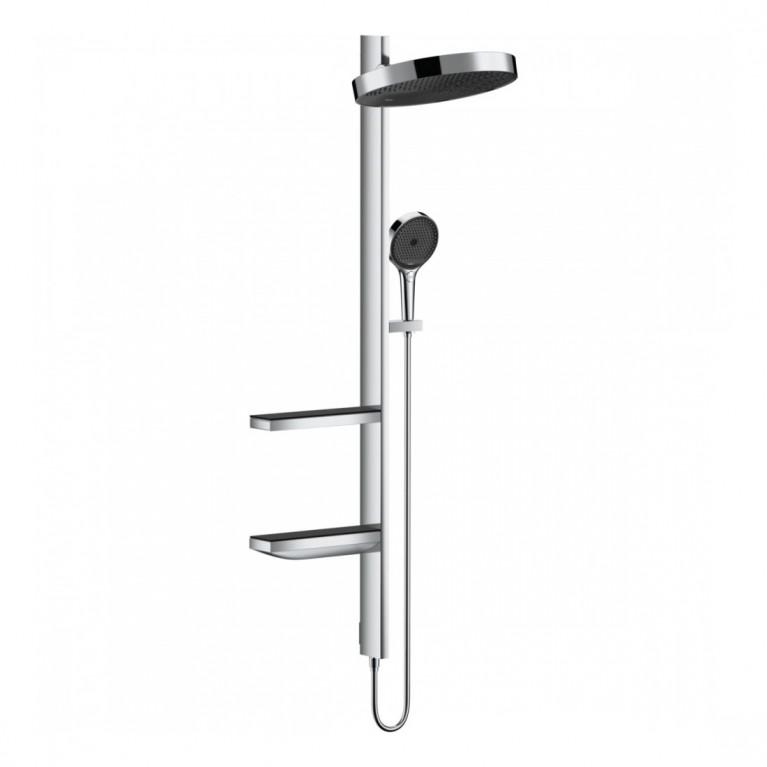 Rainfinity Showerpipe Душевая система 360 1jet скрытого монтажа, хром