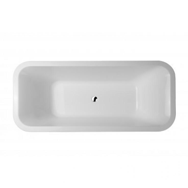 DIVINE ванна 180*80см, с сифоном и ножками A24T444000, фото 4