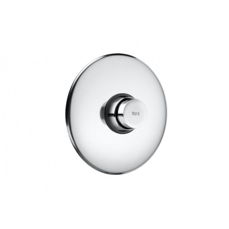 INSTANT кнопка для уринала с подводом воды с тыла (для скрытой инсталляции), с кнопкой с таймером