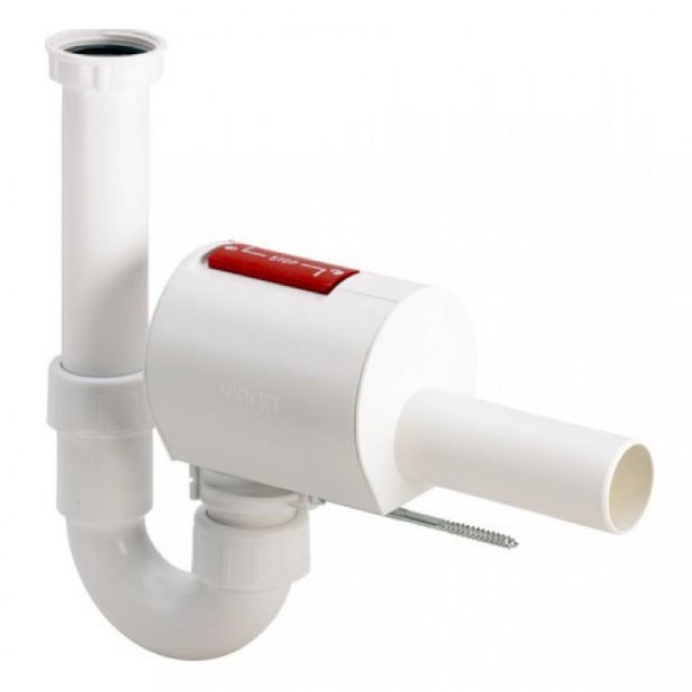 Трубный сифон + канализационный обратный клапан Sperrfix