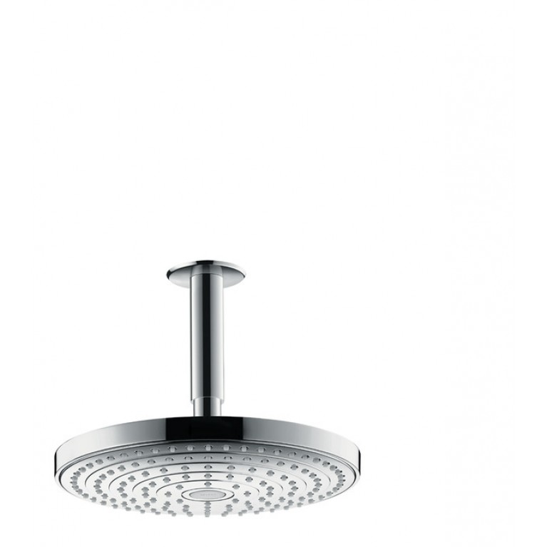 Raindance Select S 240 Верхний душ  2jet EcoSmart, с потолочным подсоединением ½'. хром