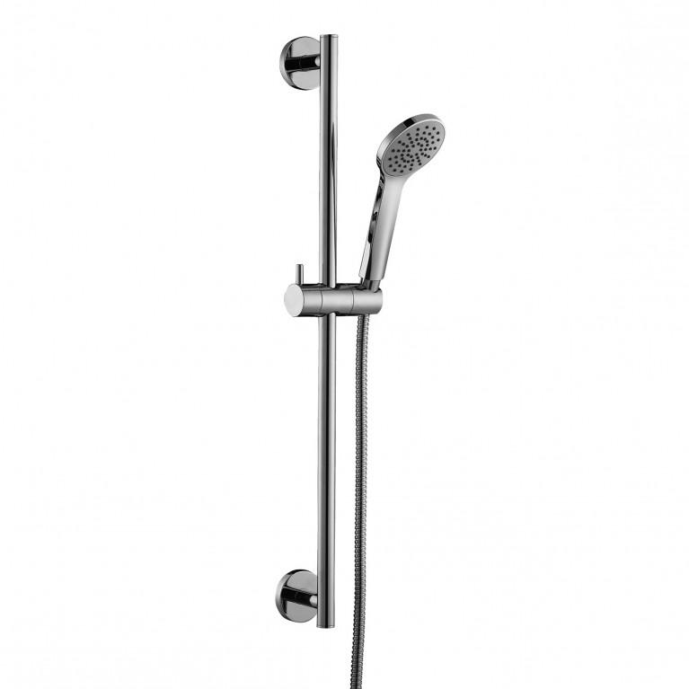 Штанга душевая L-60cm, ручной душ, шланг