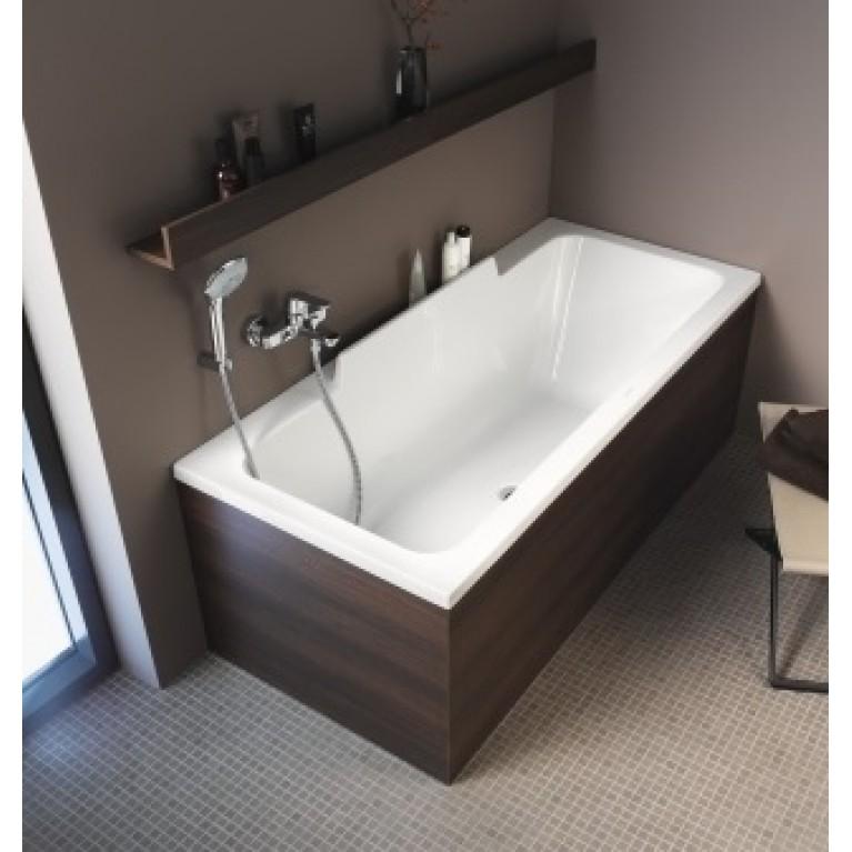 DURASTYLE ванна 160*70*46см, встраиваемая версия или версия с панелями, с наклоном для спины слева 700292000000000, фото 2