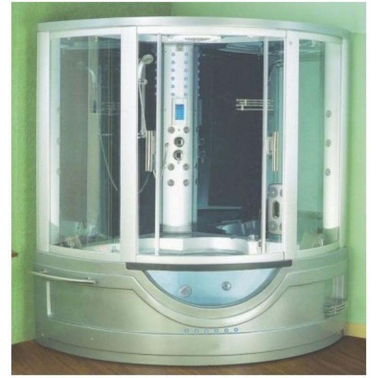 DREAM - 2 (SILVER) NEW Гидробокс с паром,ванной  без гидромассажа  1480*1480*2200