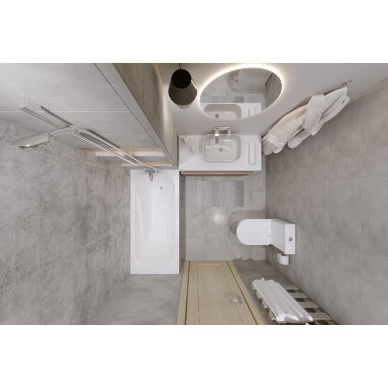 Комплект Éller-2 (FIESTA RIM компакт, раковина, BENITA Смеситель для раковины и для ванны, ванна FIESTA150, NEMO душ система)