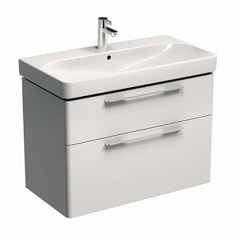 TRAFFIC шкафчик под умывальник 86,8*62,5*46,1см,белый глянец (пол.)