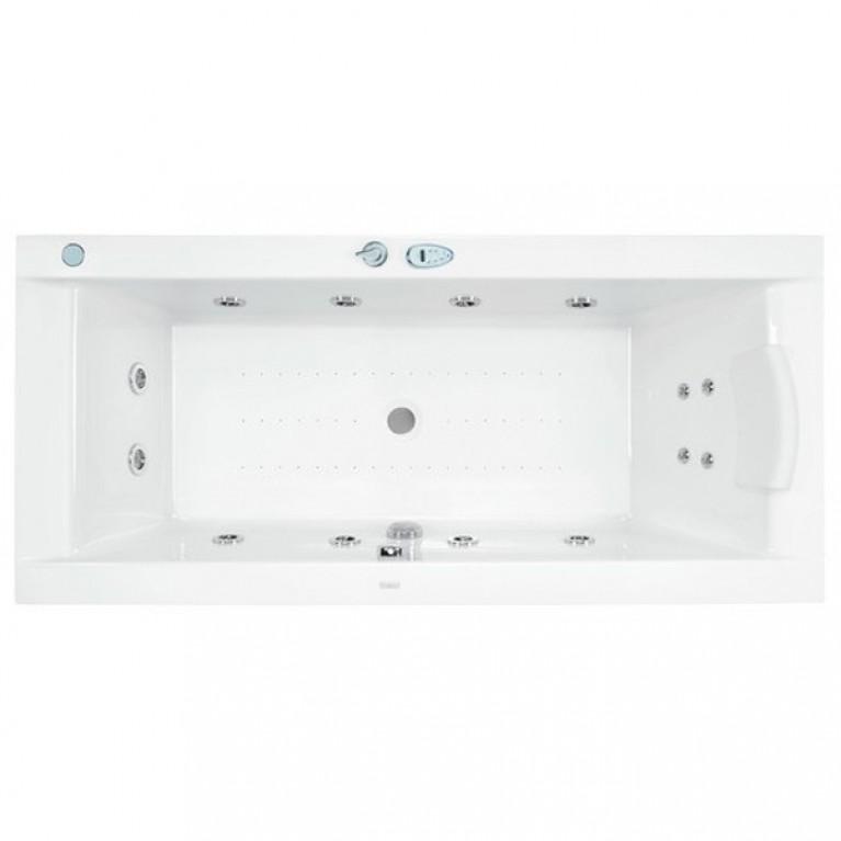 WINDSOR ванна акриловая гидромассажная 190*85 см, система Titanium