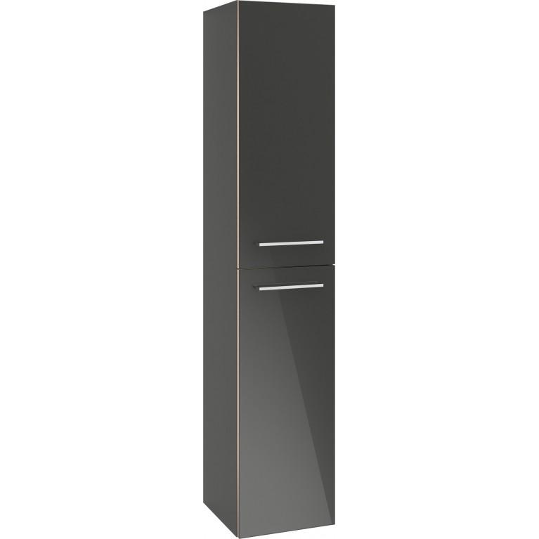 Купить AVENTO шкаф-пенал 35*176*37см, подвесной, цвет Crystal Grey у официального дилера VILLEROY & BOCH в Украине