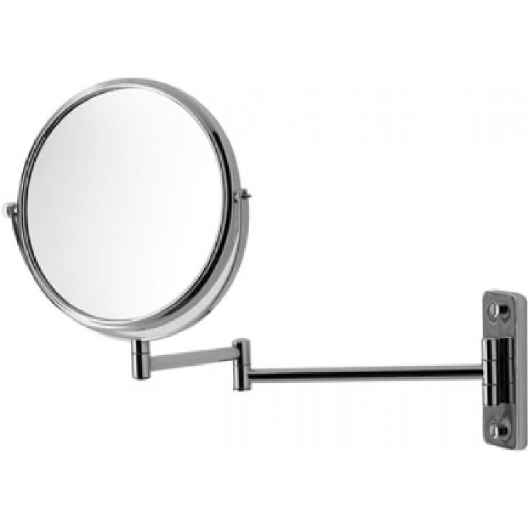 D-CODE косметическое зеркало 3 х кратное увеличение, хром