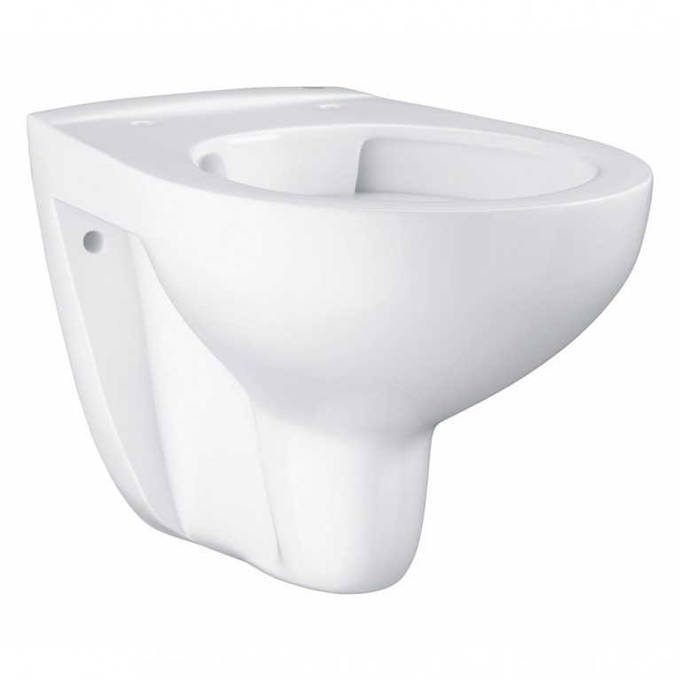 Bau Ceramic Подвесной безободковый унитаз  (без сиденья), альпин-белый, фото 1