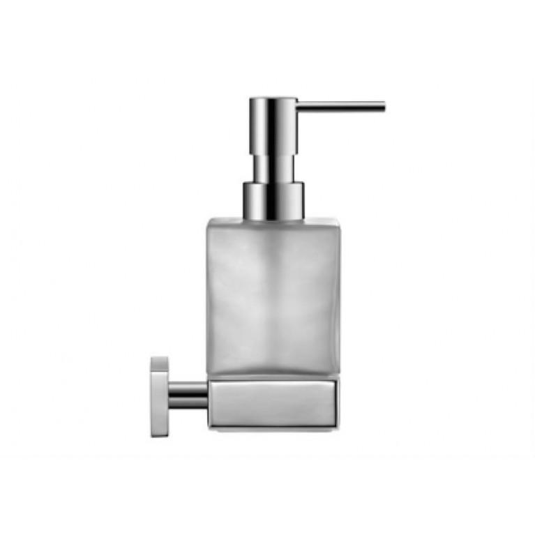 KARREE дозатор для мыла, для подвесного монтажа, хром