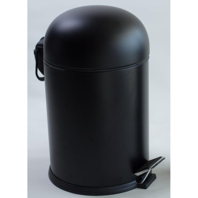 BON ведро для мусора с педалью 5л, цвет черный