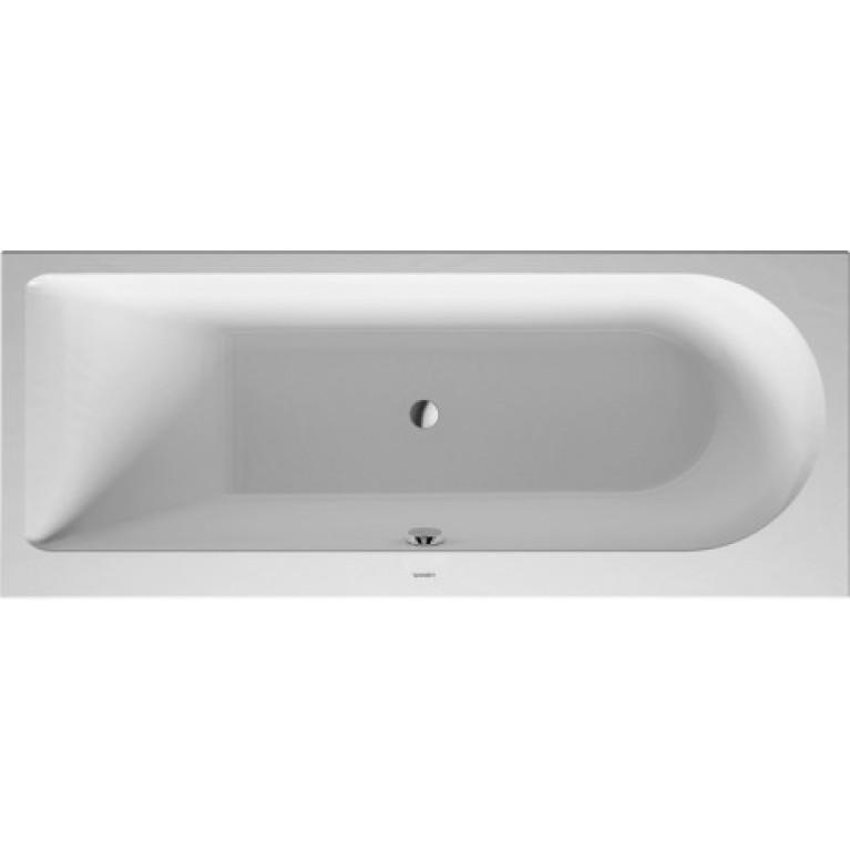 DARLING NEW ванна 170*70*46см, встраиваемая версия или версия с панелями, с наклоном для спины слева, фото 1