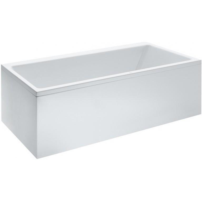 PRO ванна 190*90*62,5см, для установки в правом углу, с алюмин. рамой, с левой L-пaнeлью, белая, фото 1