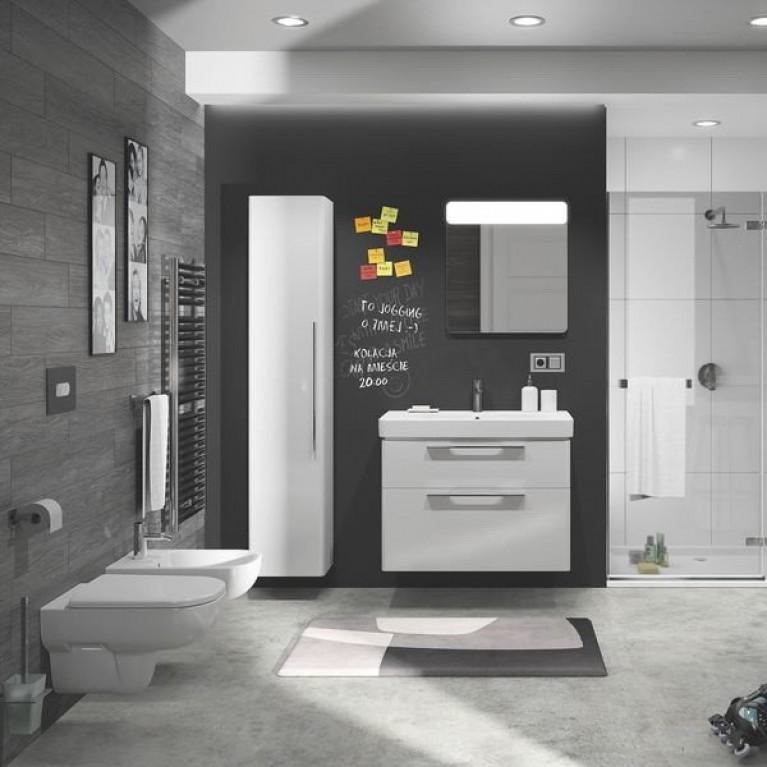 TRAFFIC шкафчик боковой высокий 36*180*29,5 см,белый глянец (пол.) 88419000, фото 2