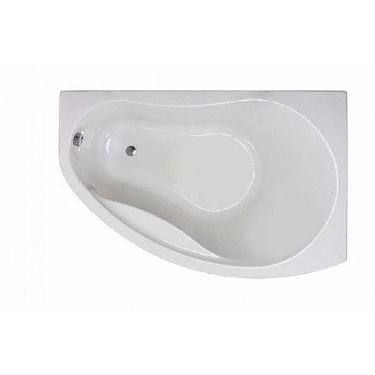 PROMISE ванна асимметричная 170*110 см, правая, c ножками SN8, фото 1