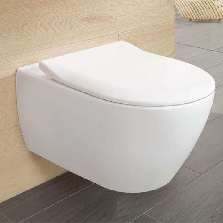 ARCHITECTURA сиденье с крышкой для унитаза, SlimSeat, белый альпин 9M70S101, фото 3