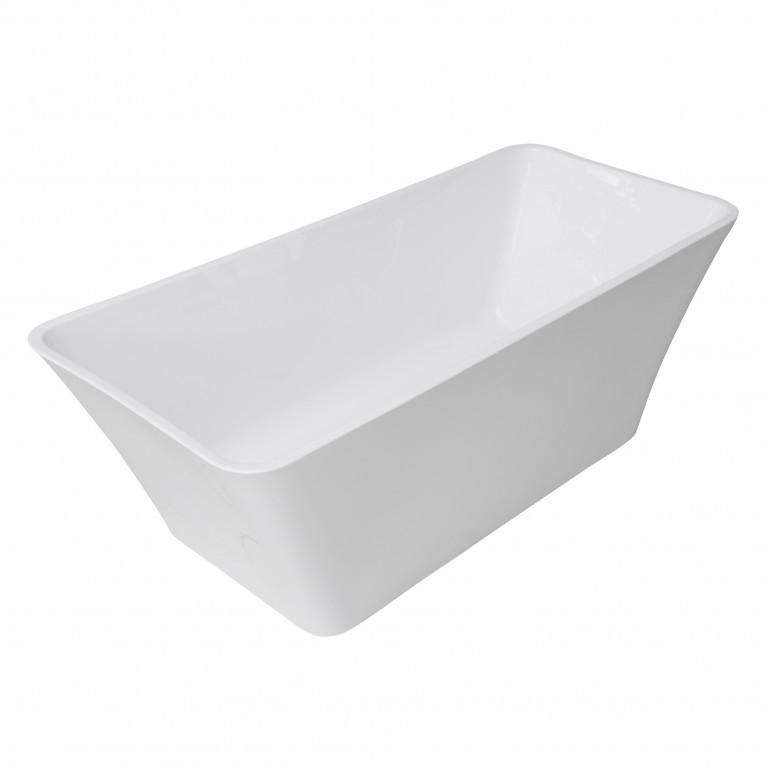 Ванна 170*75*60см, отдельно стоящая, акриловая, с сифоном