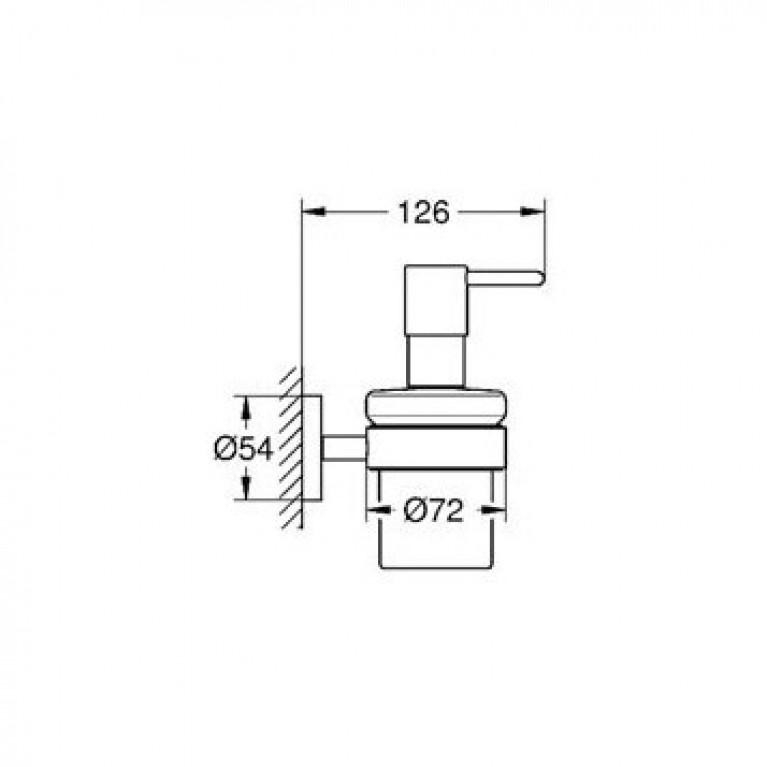 Essentials Дозатор для жидкого мыла 40448001, фото 2