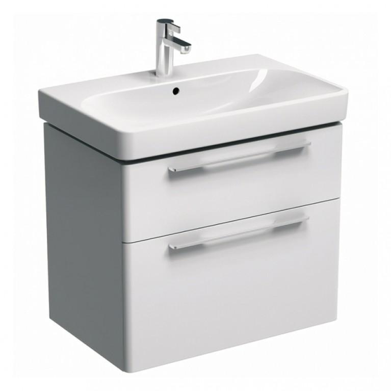 TRAFFIC шкафчик под умывальник 71,8*62,5*46,1см,белый глянец (пол.), фото 1