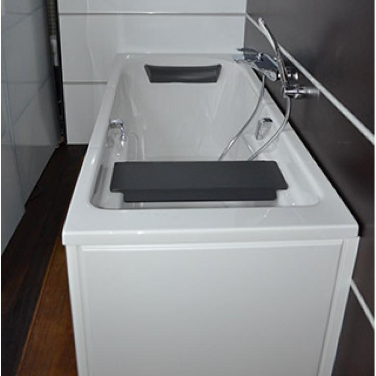 COMFORT PLUS ванна 180*80см, прямоугольная, с ручками, с ножками XWP1481000, фото 2
