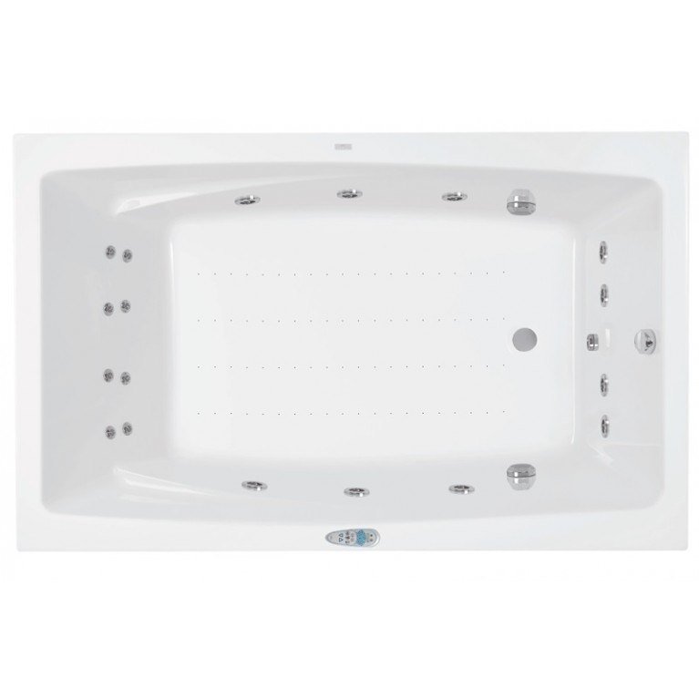 FANTASY ванна 185*115см, с системой гидромассажа Smart 2
