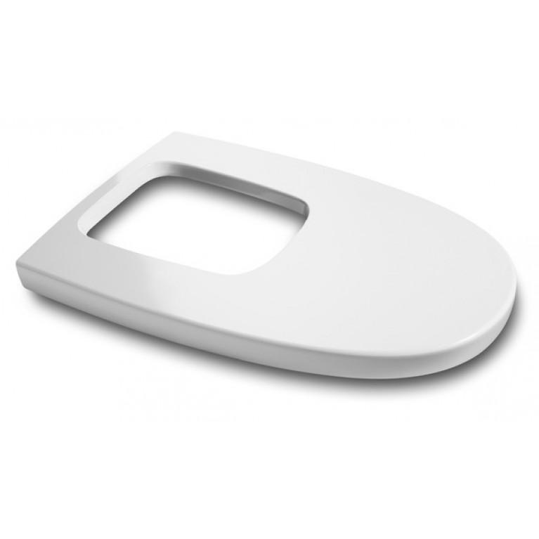 KHROMA крышка на биде, цветная, slow closing, с оббивкой крышки Soft Texture, цвет Organic White