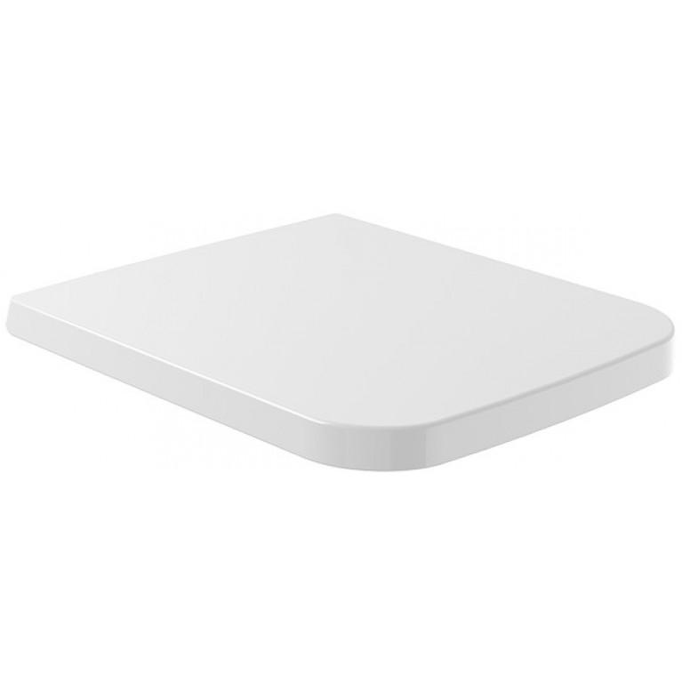 FINION сиденье для унитаза QuickRelease, SoftClosing, цвет белый альпин CeramicPlus, фото 1