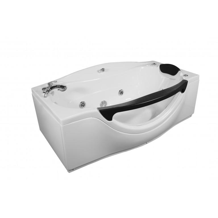 Купить Ванна прямоугольная с гидромассажем и пневмокнопкой 1800*990*680 мм, с окошком у официального дилера APPOLLO в Украине