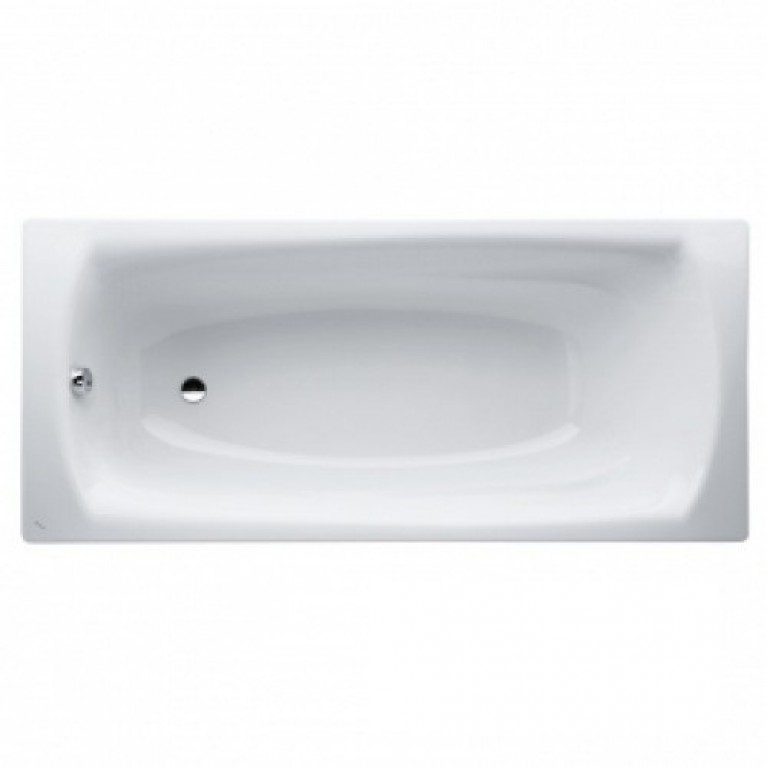 PALLADIUM ванна 170*75*43см, эмалированная сталь, с противошумными прокладками