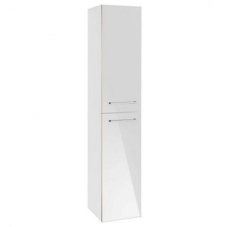 AVENTO шкаф-пенал 35*176*37см, подвесной, петли справа, цвет Crystal White, фото 1