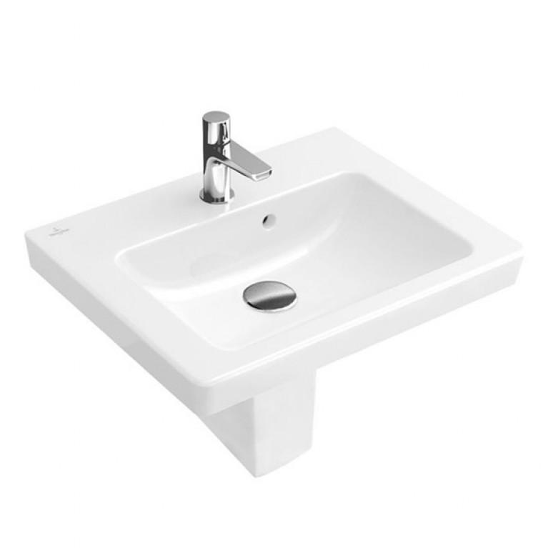 SUBWAY 2.0 умывальник 60*47 см White Alpin CeramicPlus