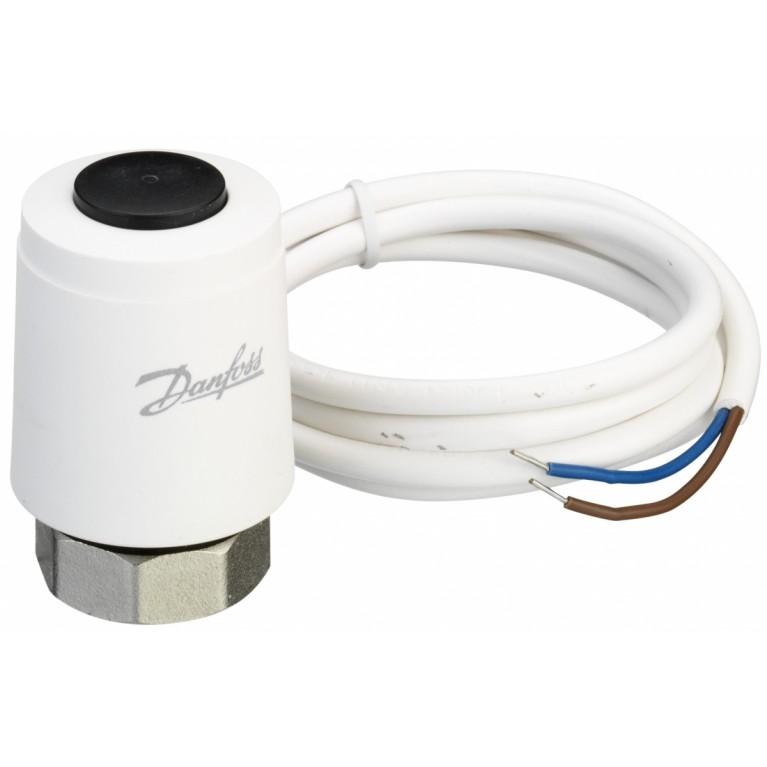 Danfoss Термоэлектрический привод TWA-К NO 230V, М30 x 1.5, длина кабеля 1.2м