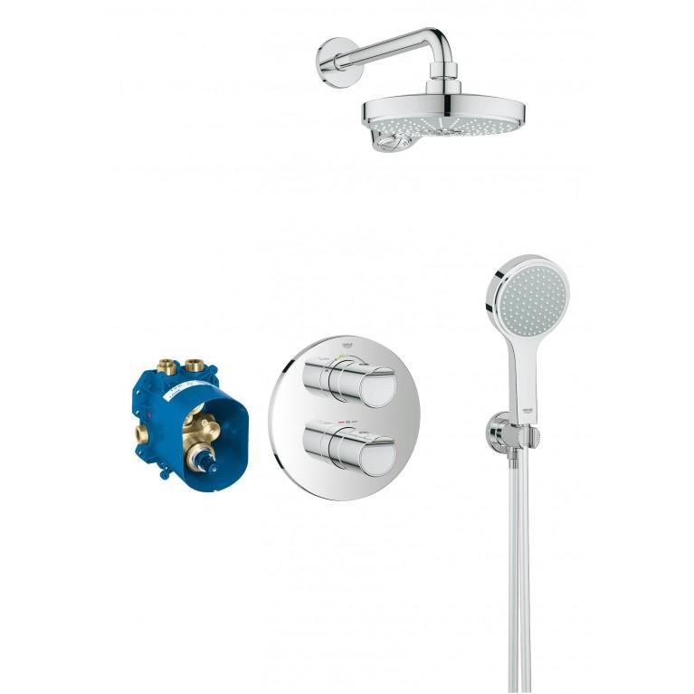 Grohtherm 2000 Душевой набор с термостатом и верхнем душем