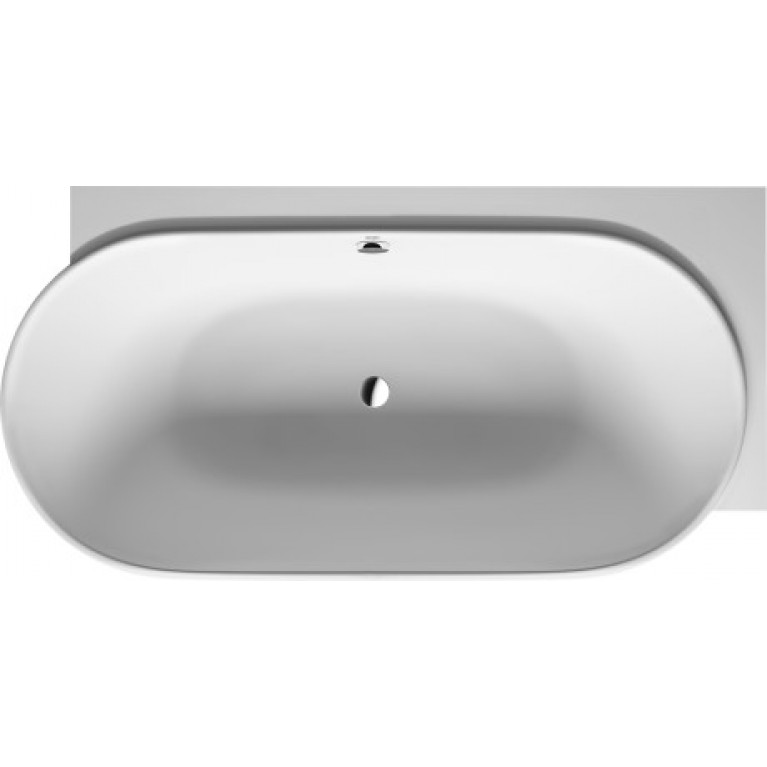 LUV ванна 185*95*46см, угол справа, с бесшовной панелью и ножками, с двумя наклонами для спины