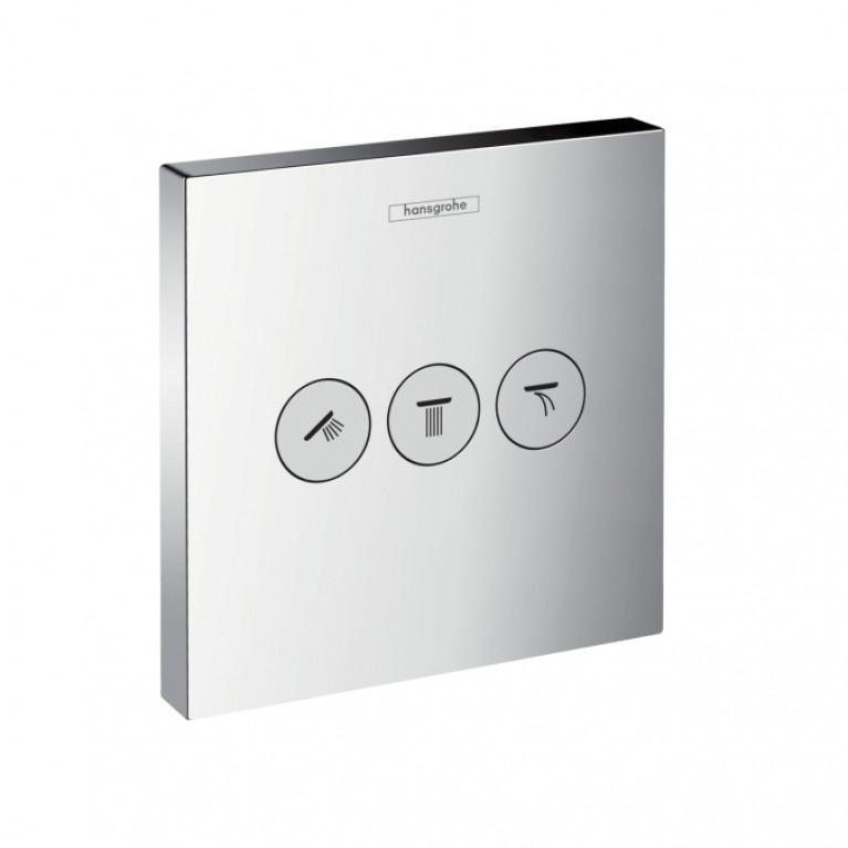 Shower Select Переключение положений(цв. Steel optic)