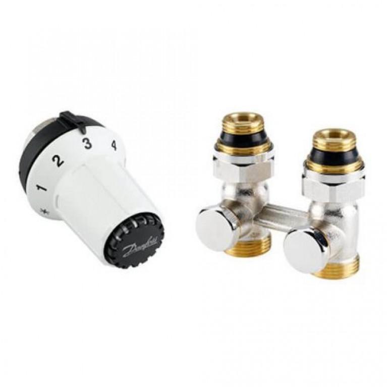 Комплект термостатический прямой Danfoss RAS-CK+RLV-KS 1/2 (013G5275)