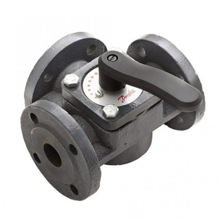 Поворотный трехходовой клапан Danfoss HFE3 PN6, DN100 фланцевый