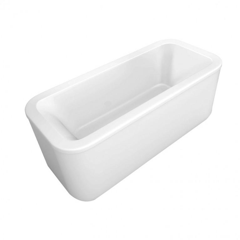 LOOP & FRIENDS ванна 180*80см овальная, цвет белый альпин, фото 1