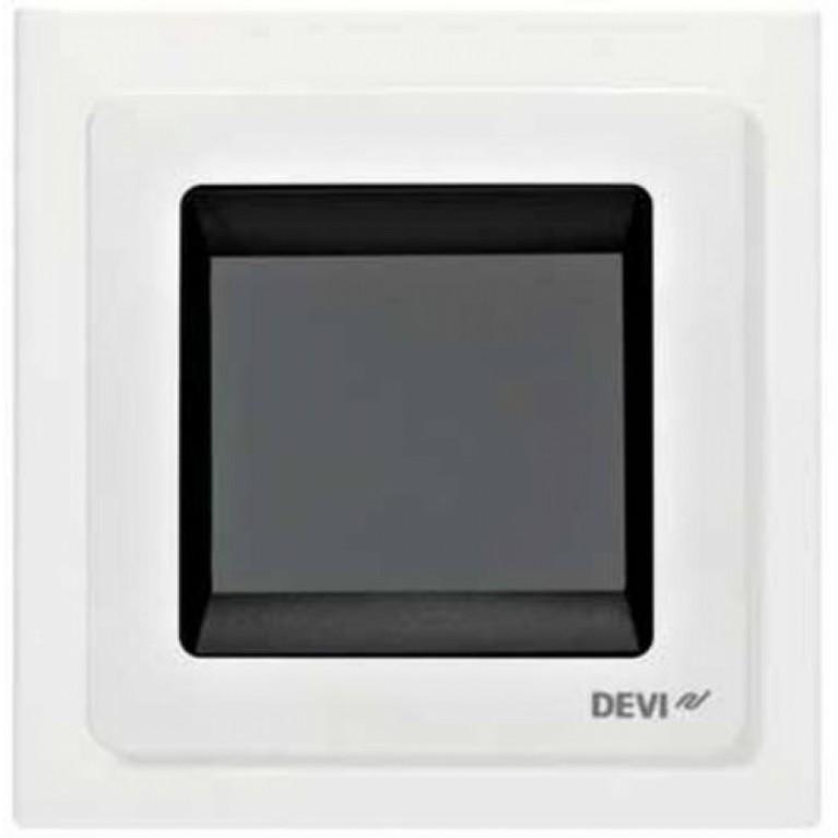 Терморегулятор DEVIreg Touch сенсорный белый