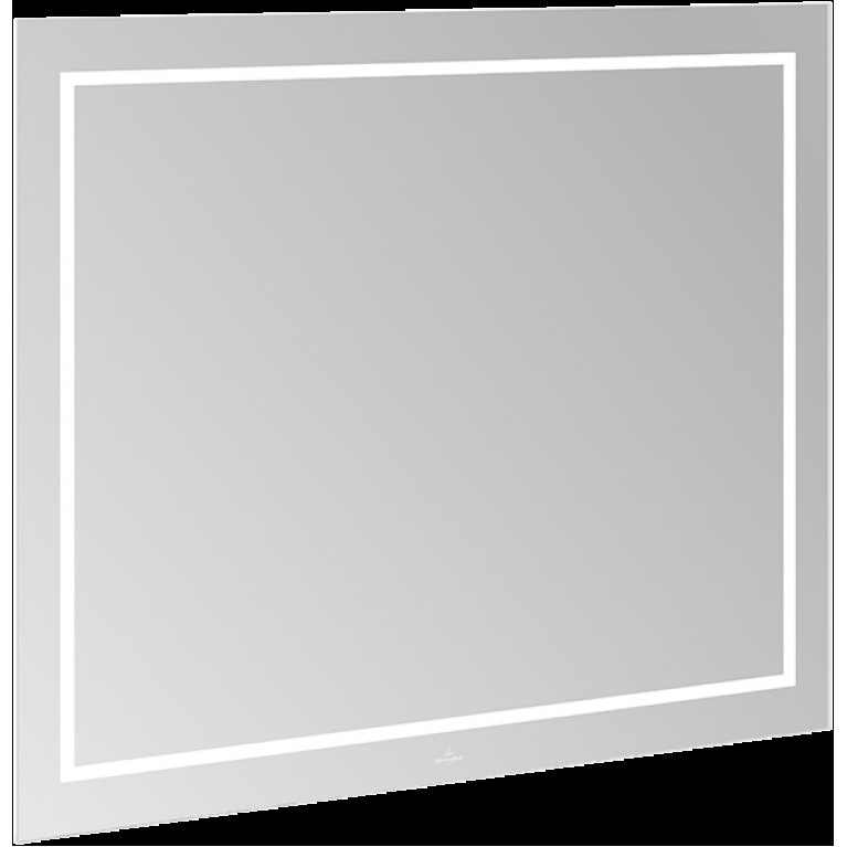 FINION зеркало 100*75*4,5см, с подсветкой, системой Bluetooth, с подогревом, фото 1