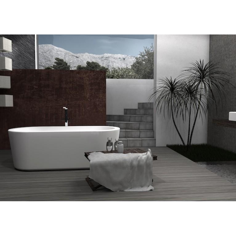 ETERNITY ванна 177*80см, с накладкой донного клапана click-clock A24T442000, фото 3