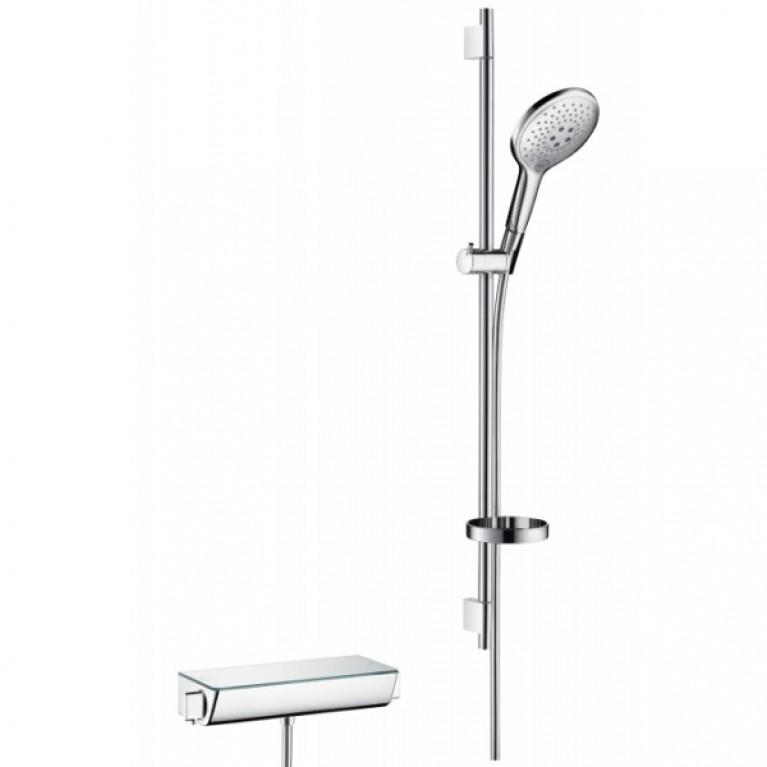 Raindance Select S 150 Combi Душевой набор с Термостатом ((цв. белый)), 0,90 м