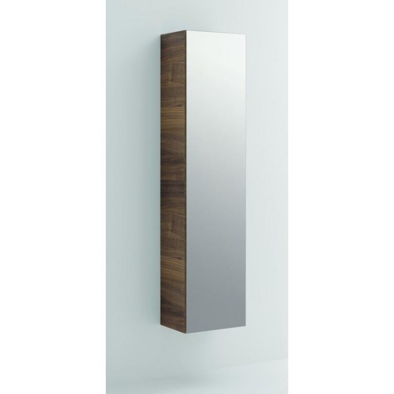 Тумба  ALESSI ONE, зеркало с обеих сторон, дверные петли справа, цвет белый, фото 1