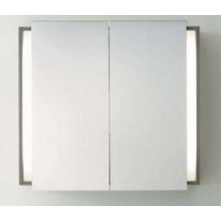 KETHO зеркальный шкафчик 75*80см с подсветкой (цвет белый матовый), фото 1