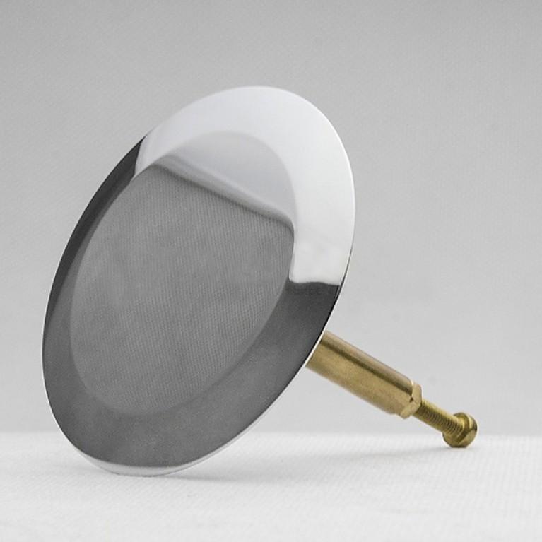 Geberit Поворотная ручка и крышка сливного отверстия d52, для арт. 150.501/150.505, хром глянцевый