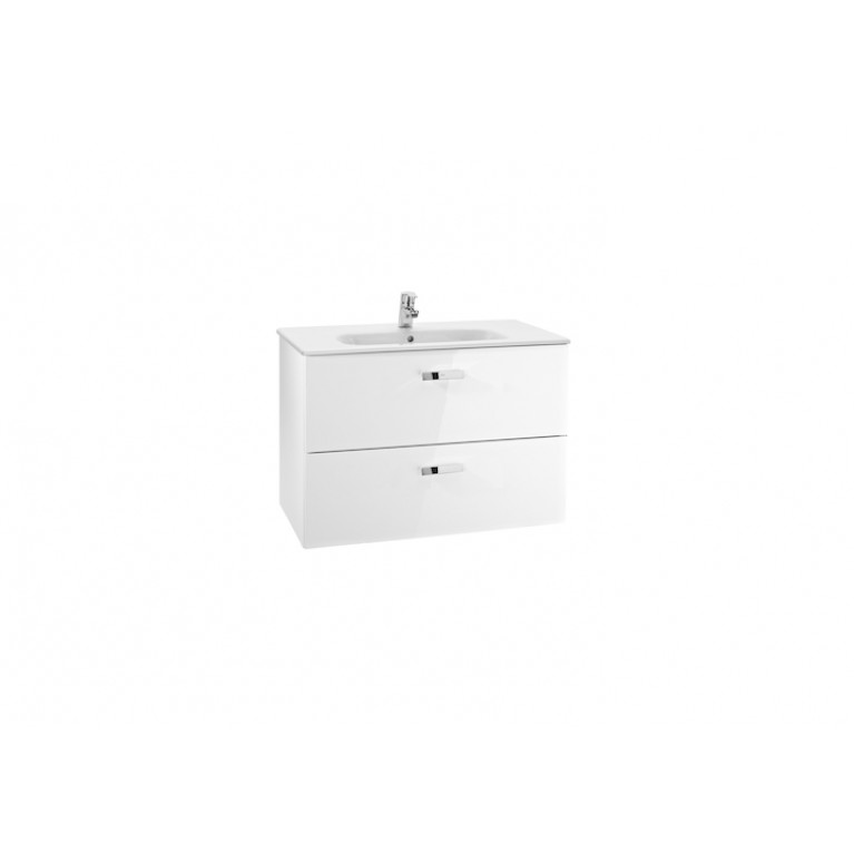 VICTORIA Шкафчик 100см, белый, от комплекта 855851806, фото 1