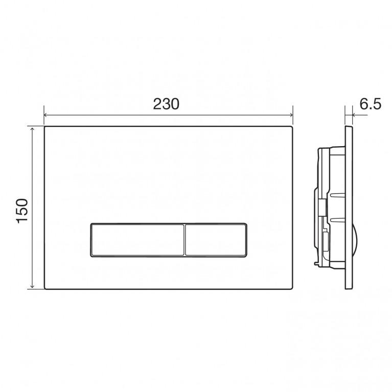 IMPRESE Комплект инсталляции 3в1(PANI хром) (OLIpure) i9120OLIpure, фото 5