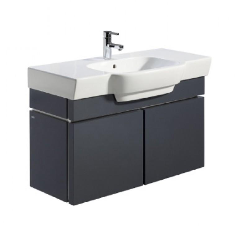 VARIUS шкафчик под умывальник 95,8*52,6*36,2 см темный графит (пол.)