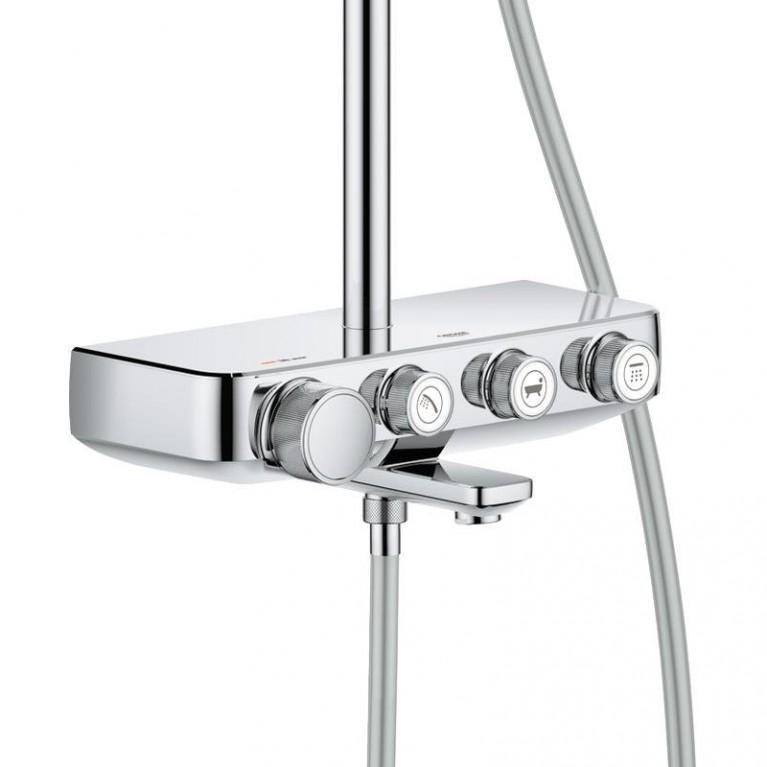 Euphoria SmartControl System 260 Mono Душевая система настенного монтажа с термостатом для ванны 26510000, фото 3